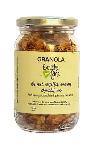 Granola noisettes chocolat...