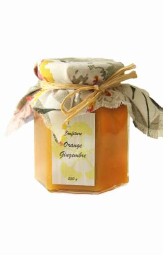 Confiture orange gingembre