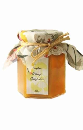 Confiture orange gingembre