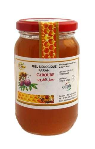 Miel bio de caroubier