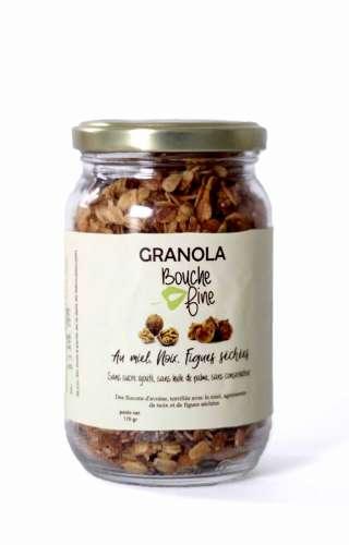 Granola noix figues séchées