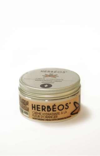Crème hydratante Herbéos à la fleur d'oranger