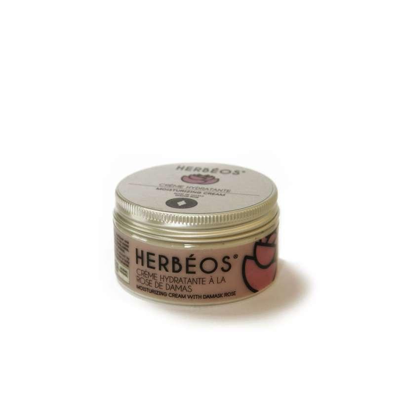 Crème hydratante Herbéos à la rose de damas