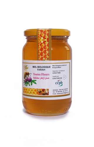 Miel bio fleurs des forêts