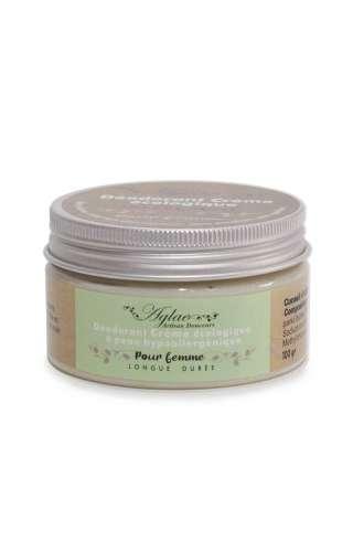 Photo d'un pot de déodorant crème au palmarosa