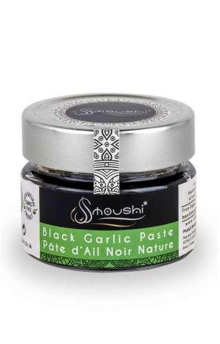 Pot de pâte d'ail noir nature de la marque Smoushi