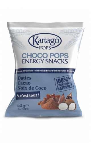 Choco pops aux noix de coco