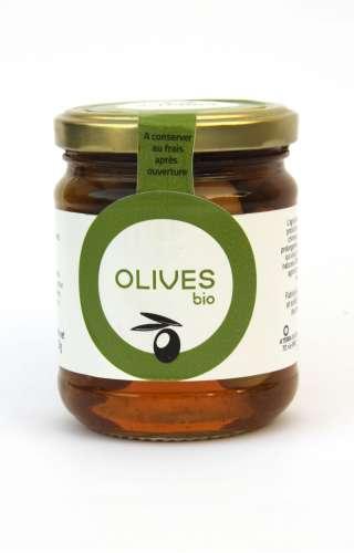 Olives vertes en saumure