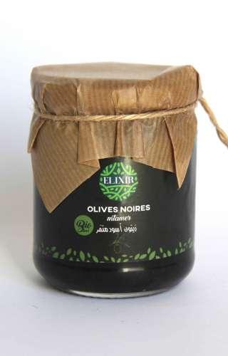 Olives noires mtammer